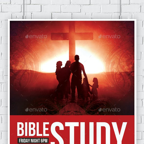 The Bible Study Church Flyer