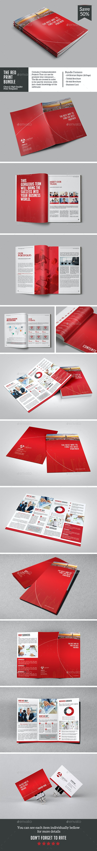The Red Print Bundle - Corporate Brochures