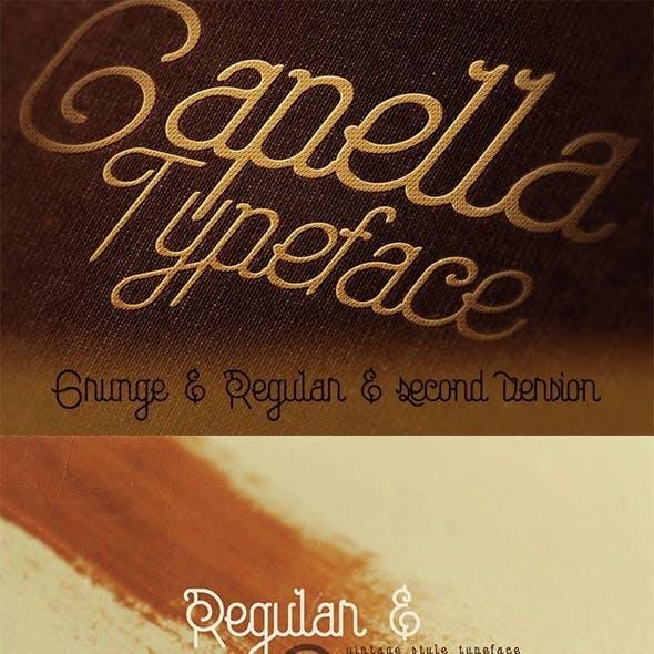 Capella Typeface