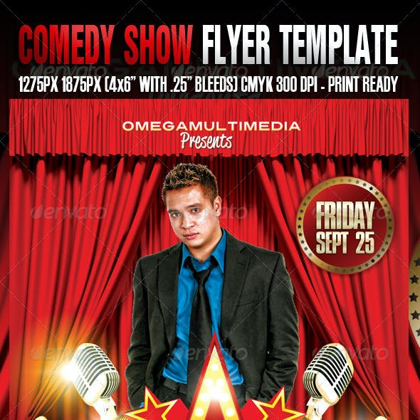 Comedy Show Template