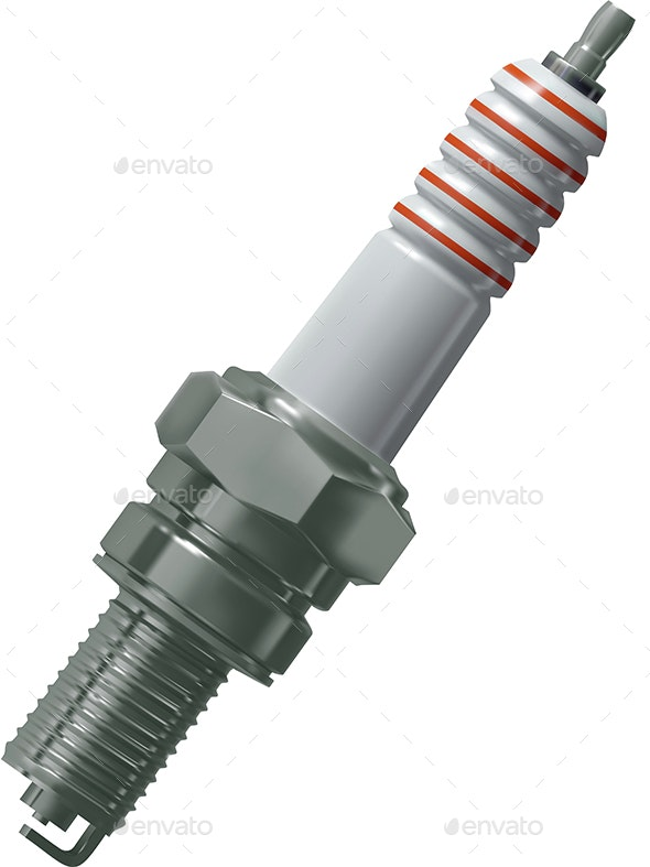 Spark Plug for the Engine - Technology Conceptual