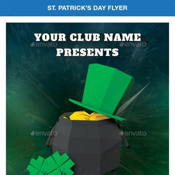 Patricks Day Flyer.