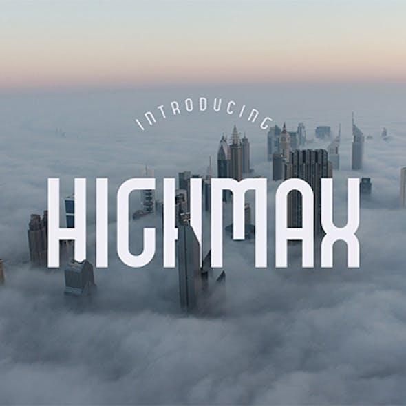 HIGHMAX Typefamily