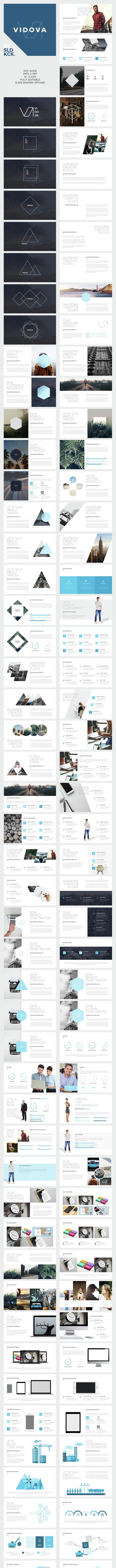 Vidovo - Modern Powerpoint Presentation - PowerPoint Templates Presentation Templates