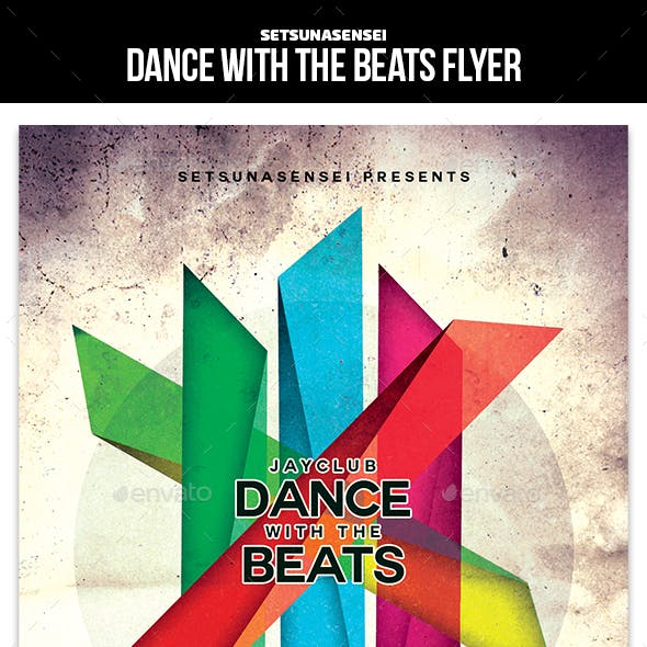 Dance with the Beats Flyer