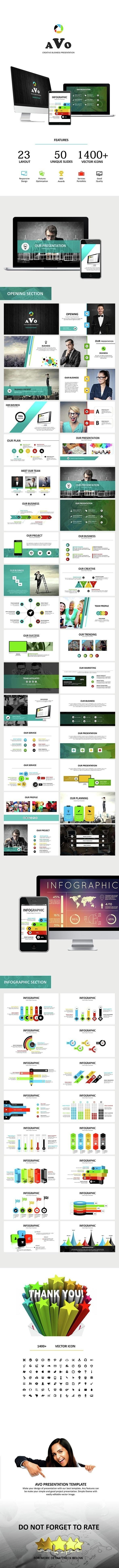 AVO - Google Slides Business Presentation - Google Slides Presentation Templates