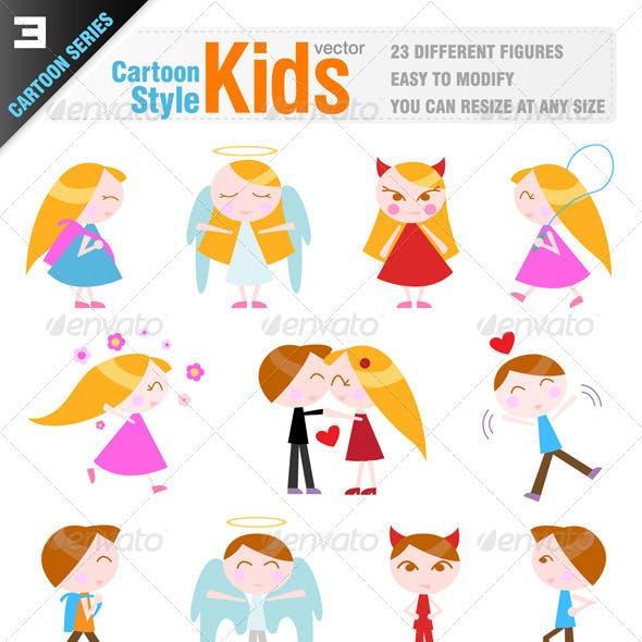23 Cartoon Kid Characters