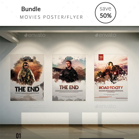 Bundle Movies Poster/Flyer