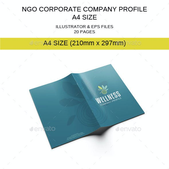 NGO Corporate Company Profile Template