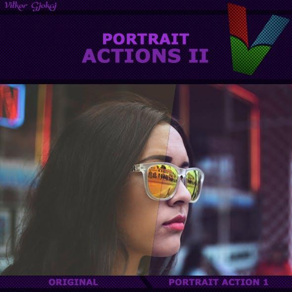 Portrait Actions II