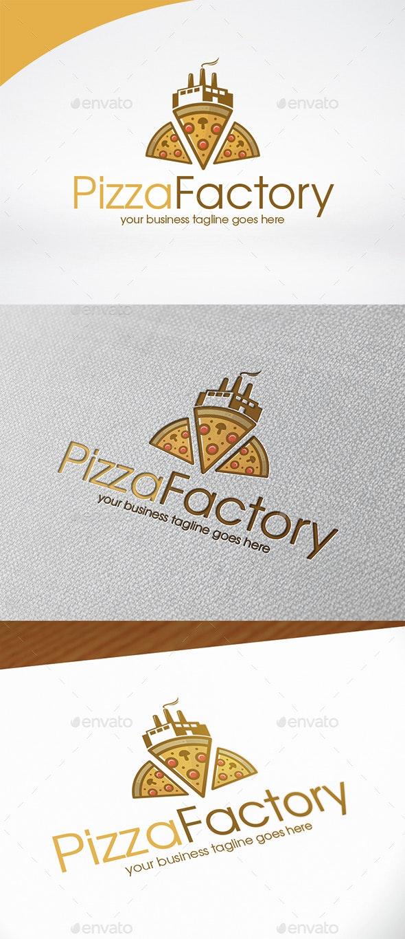 Pizza Factory Logo Template - Food Logo Templates