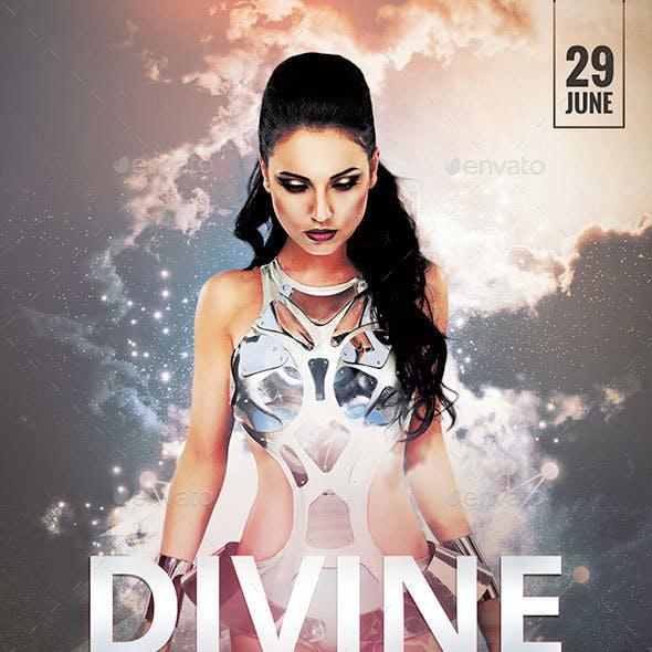 Divine Beats Flyer