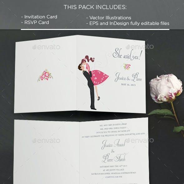 Wind: Invitation Card