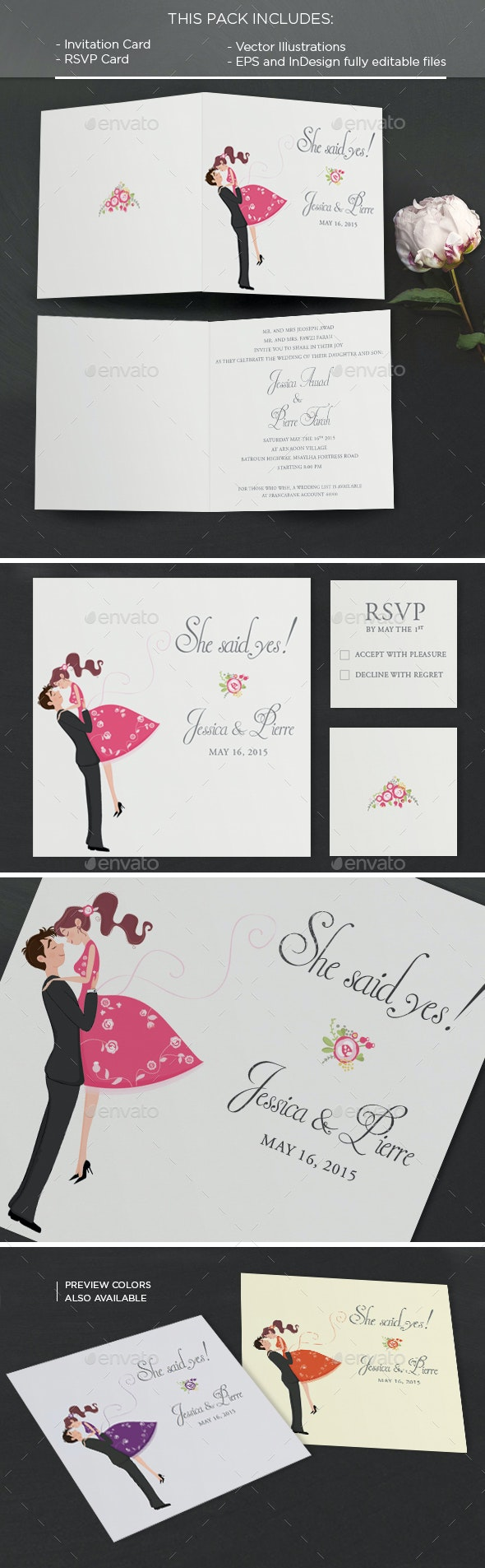 Wind: Invitation Card - Weddings Cards & Invites