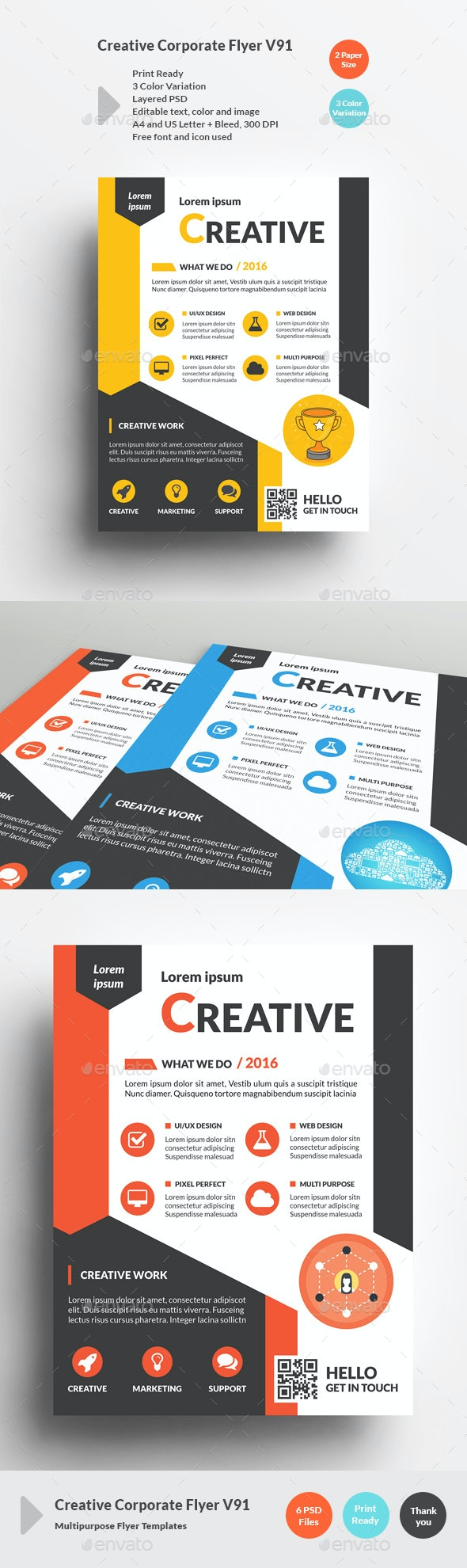 Creative Corporate Flyer V91 - Corporate Flyers