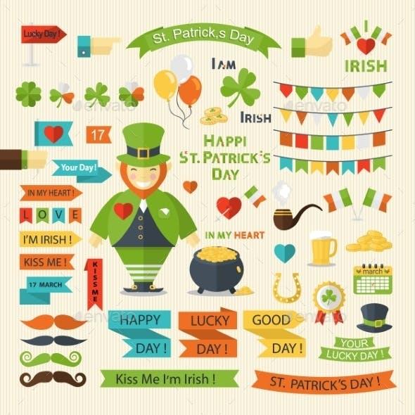 Happy St. Patrick's Day Set