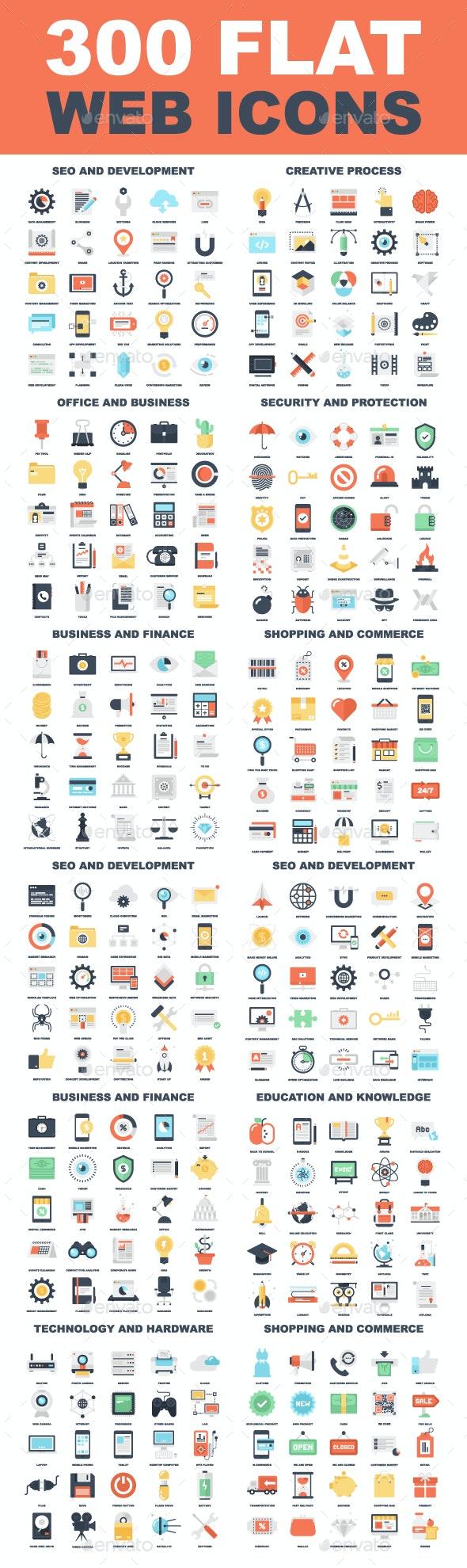 Web Icons Bundle - Web Icons