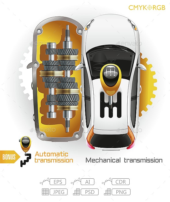 Car Transmission Gearbox - Services Commercial / Shopping