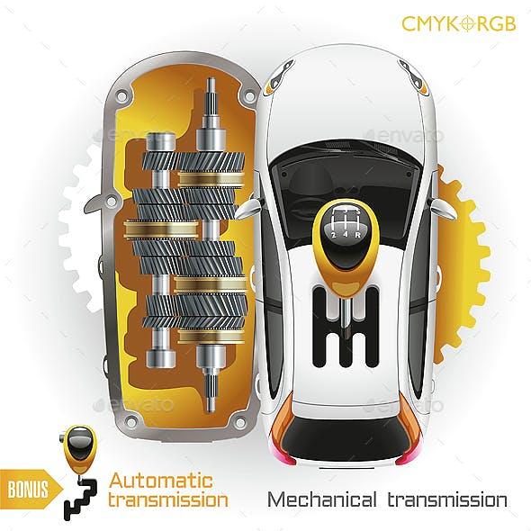 Car Transmission Gearbox