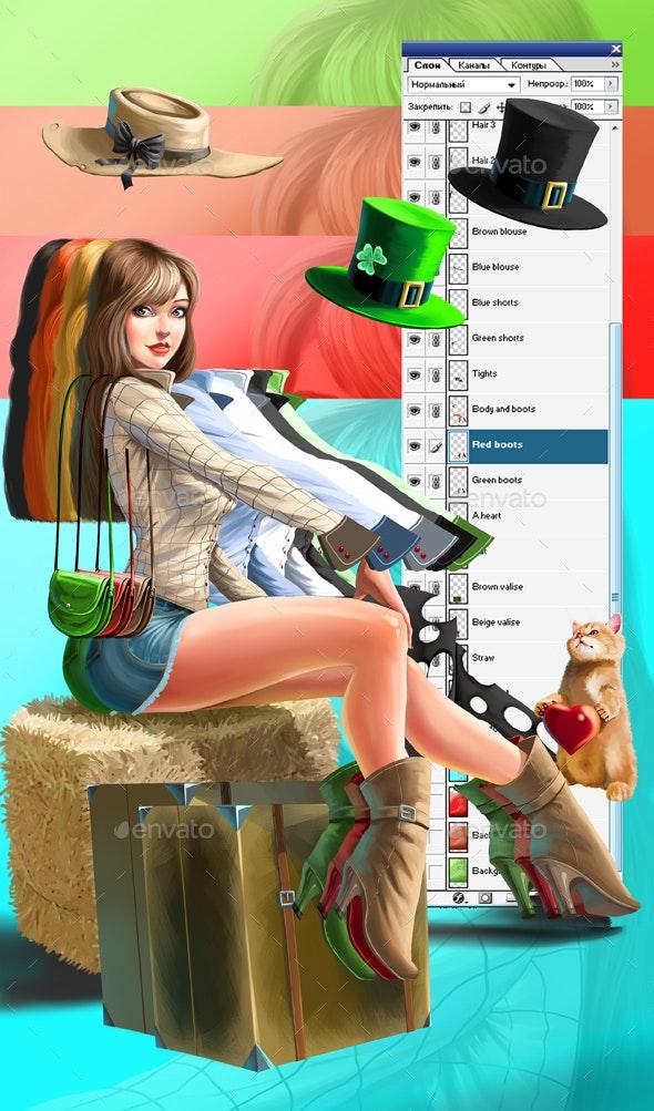 Susan - Graphics
