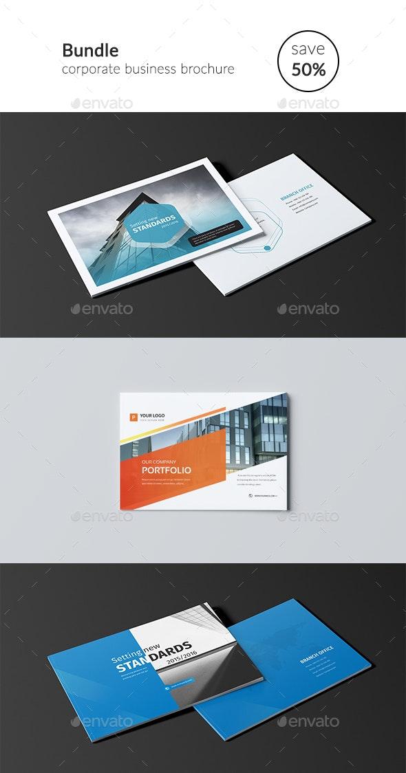 The Bundle A5 - Brochures Print Templates