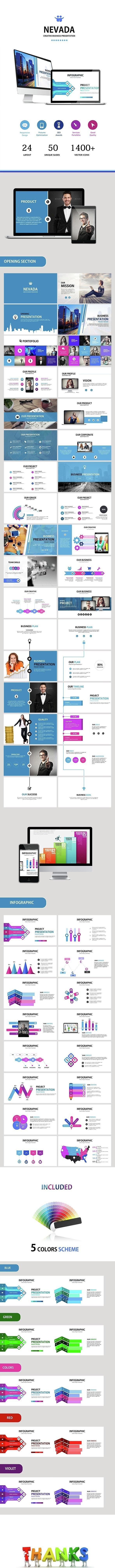 NEVADA - Google Slides Business Presentation - Google Slides Presentation Templates