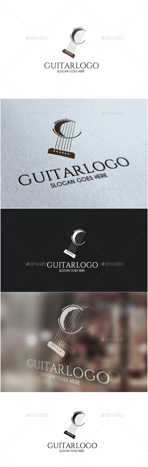 Guitar Logo - Objects Logo Templates