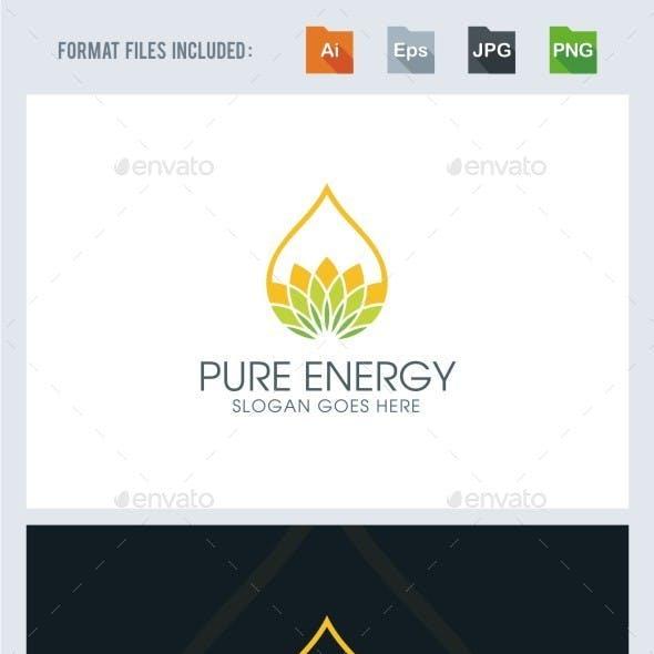 Pure - Eco Energy Logo Template