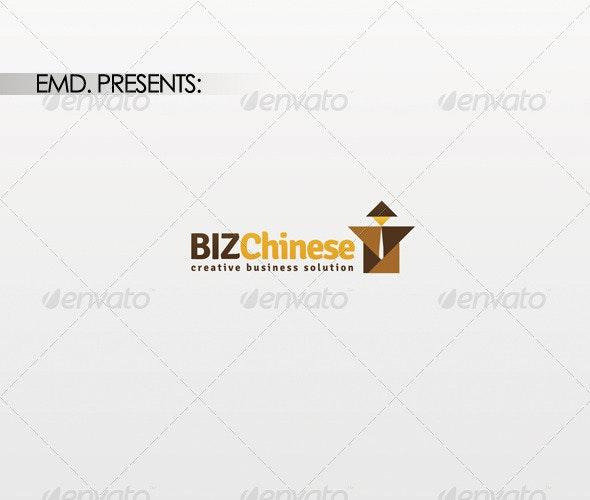 Biz Chinese Logo - Symbols Logo Templates