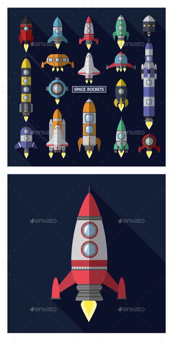 Space Rocket - Miscellaneous Conceptual