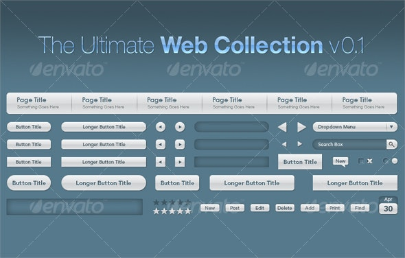 The Ultimate Web Collection v0.1 - Miscellaneous Web Elements