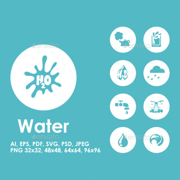 20 Water icons