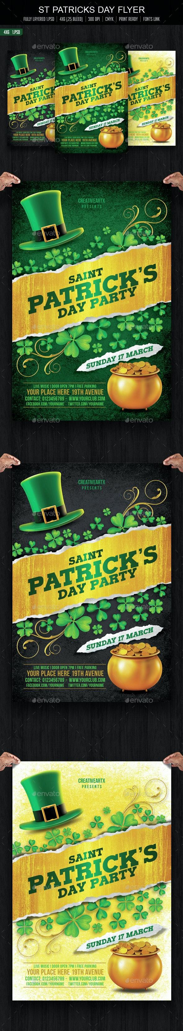 St Patricks Day Flyer - Events Flyers