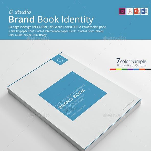 Brand Book Identity Template
