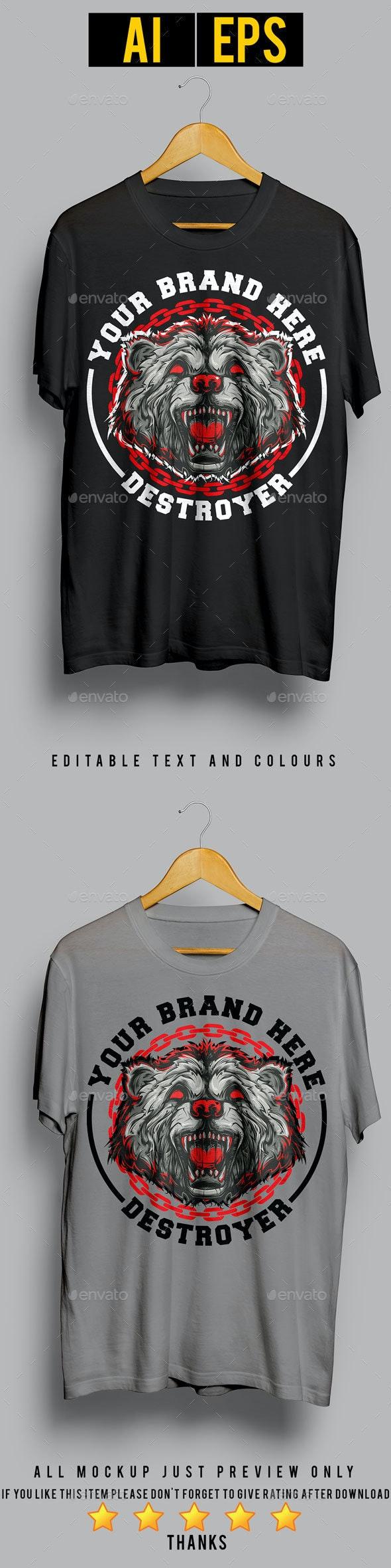Destroyer - Designs T-Shirts