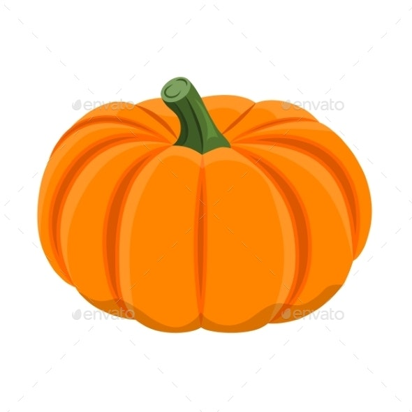 Illustration of Pumpkin - Food Objects