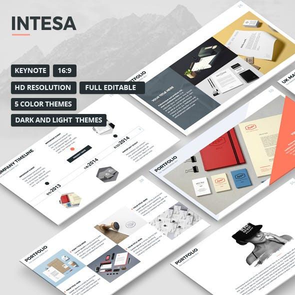 Intesa Keynote Presentation Template