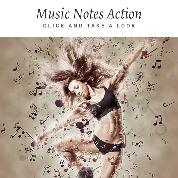 Music Notes Action
