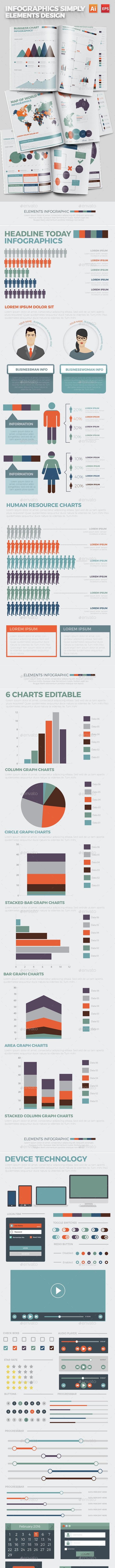 Infographics Simply Design - Infographics
