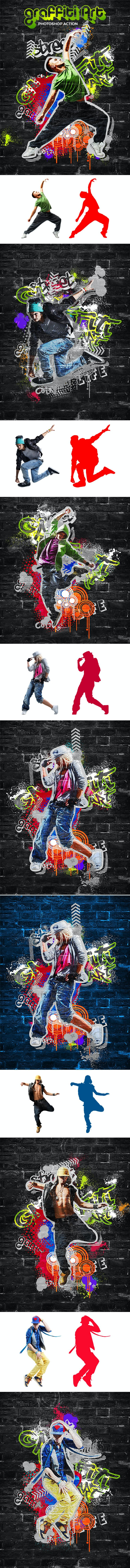 Graffiti Art Action - Photo Effects Actions