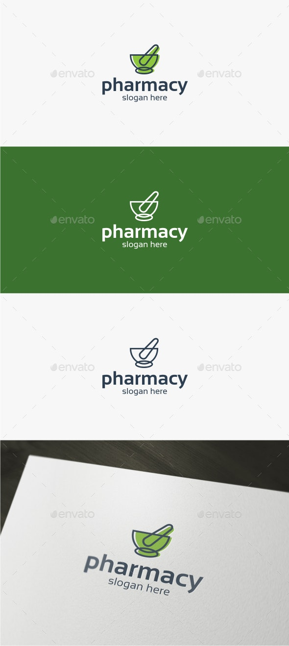 Pharmacy - Logo Template - Symbols Logo Templates