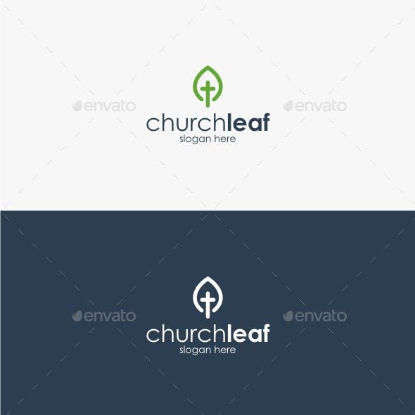 Church Leaf - Logo Template