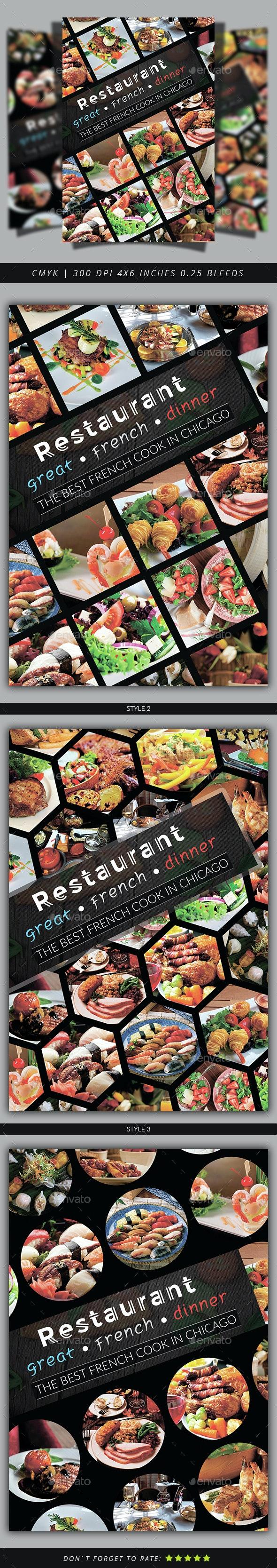 Restaurant Flyer Template - Restaurant Flyers