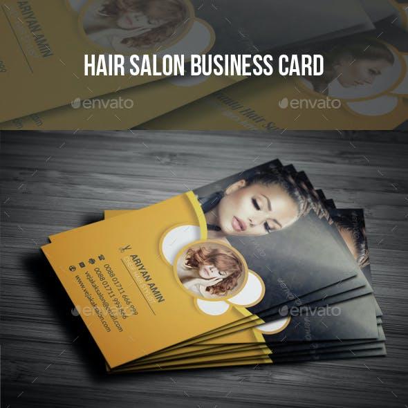 Hair Salon Business Card