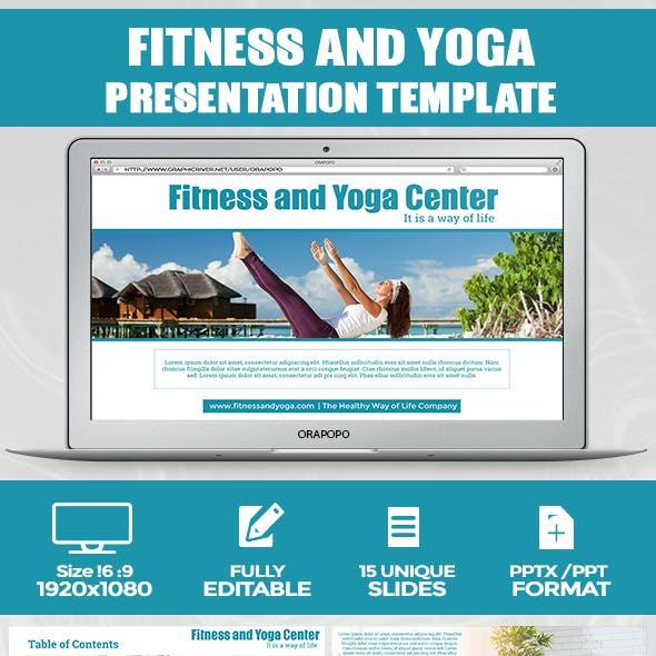 Cantiq ~ Fitness and Yoga Center Presentation