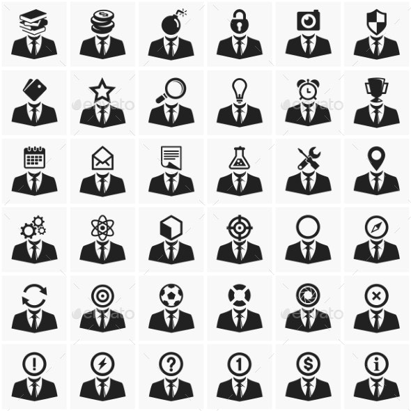 Set of Universal Icons - Concepts Business