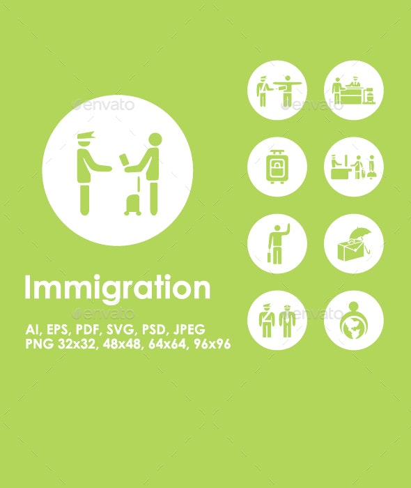 Immigration icons - Miscellaneous Icons
