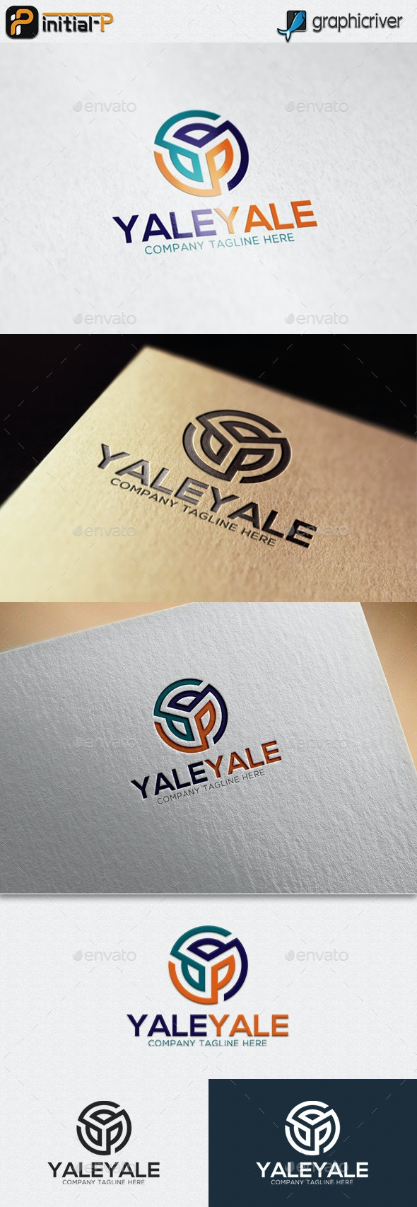 Letter Y Circle logo - Abstract Logo Templates