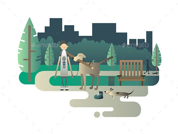 Walk With a Dog - Miscellaneous Characters