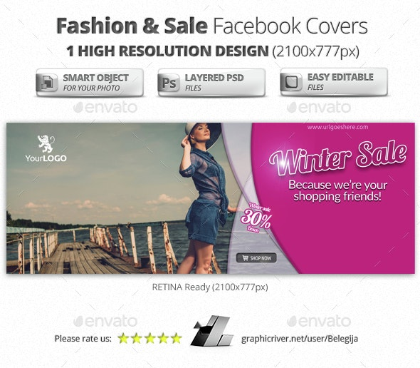 Fashion & Sale Facebook Covers - Facebook Timeline Covers Social Media
